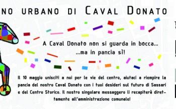 Lo spuntino urbano di Caval Donato