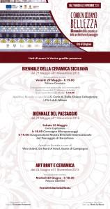 invito mostre Biennale 29 e 30 maggio- 23 giugno