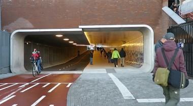 tunnel-ciclabile-amsterdam